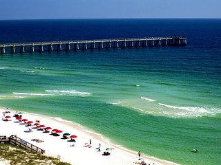Oct special! Only $150/nt! Gorgeous 2/2 gulf front condo!, Navarre