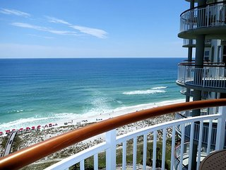 Fall Special! Only $199/nt! 3/3 gulf front condo at Beach Colony West!, Navarre
