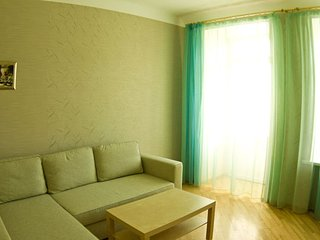 Smolenskaya-Arbat apartment with 2 bedroom+LR, Moscú