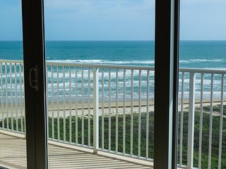 Beachfront Oceanview Aquarius Condo #607, South Padre Island