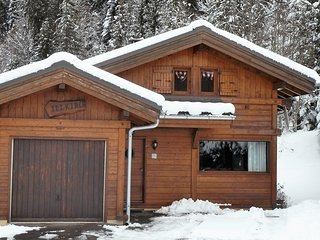 Chalet Alpin, cosy 2 bedroom ski chalet, sleeps 6