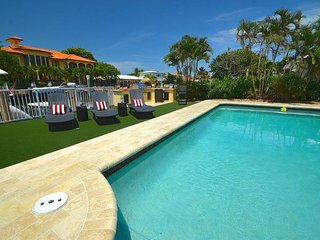 "By The Sea Vacation Villas LLC- ""Casa Panacea""   WATERFRONT HTD POOL  STUNNING!, Fort Lauderdale"