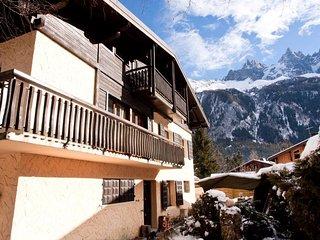 Mont Blanc on the big screen, Chamonix