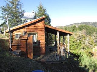 Cabaña costado vista al sur