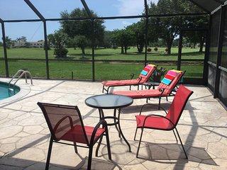 Peaceful sunbathing area