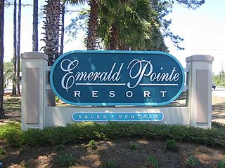 Emerald Pointe Resort - Quiet side of Panama City, Panama City Beach