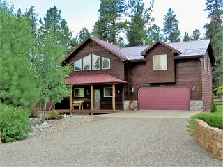 ForestView: Mountain solitude in a pet-friendly home with a large fenced yard, Pagosa Springs