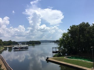 Magnificent Waterfront View w/No Steps--Pets OK. Privately-owned/managed