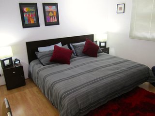 Comfortable studio, ideal 4 couples, near the WTC & La Condesa