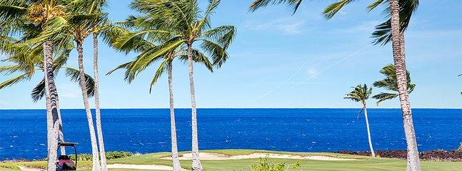 Oceanfront golf course right next door