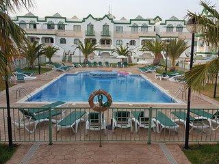 Vivienda de 2 habitaciones, vistas a la piscina, Caleta de Fuste