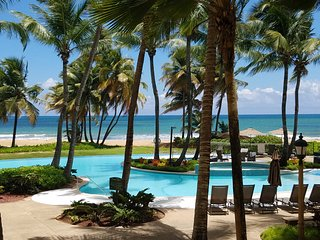 Private Beachfront Villa at Wyndham Rio Mar Resort, Rio Grande