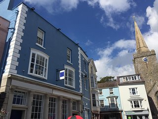 Tudor Apartment, Tenby, sleeps 5