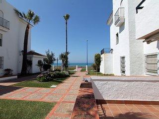 Apartamento en planta baja primera linea de playa