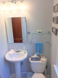 Newly redone bathroom with Kohler fixtures!