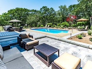 RAOMA - Long Point Beach Area,  Heated Pool, Contemporary Coastal Interior, Large Private Yard, Martha's Vineyard