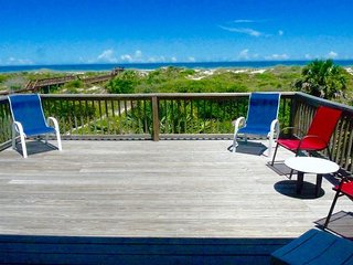 Crescent Palms, 3 Bedrooms, Ocean Front, Sleeps 8, Pet Friendly, St. Augustine