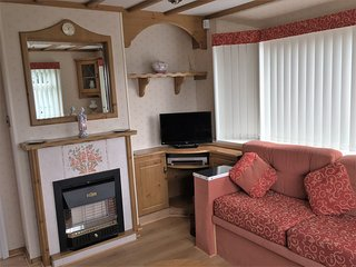 Luxury caravan central heating & double glazing