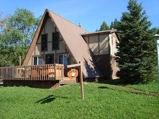 Located at Big Powderhorn - 3 BR A-Frame - Hot Tub