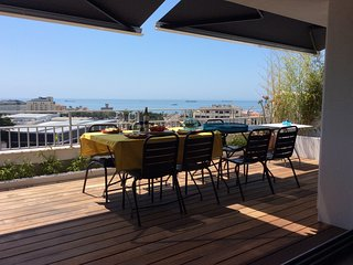 Panoramic terrasse with sea view, Estoril