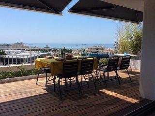 Panoramic terrasse with sea view, Estoril