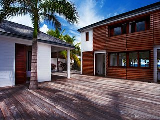 St Barts Resort Style Luxury Villa with Pool on Flamands Beach, St. Barthelemy