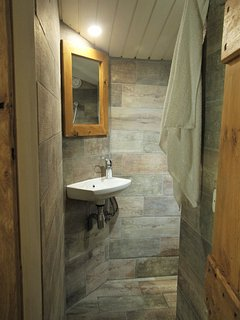 Bellecote walk-in wet room shower