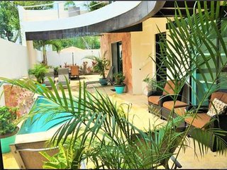 Sleeps 6 3 Bedroom Mexican Villa with Pool
