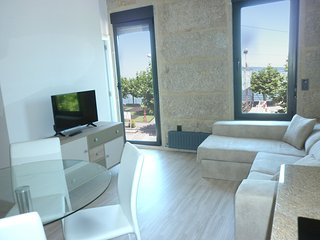 Precioso Apartamento 1 Linea de playa a estrenar, Bueu