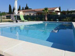 Bastide du Prévot, maison avec piscine au calme, Carcassone