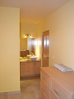 Unit 2 Bedroom 1 with full private bathroom