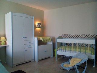 Gîte 8 pers+bébé  'AUX 10 PONTS' chambre 'VALLEE DE SOMME'