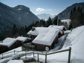 2 bedroom chalet with mezzanine.  Stunning views.