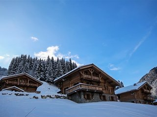 Cozy chalet 200m from the slopes, Saint Jean d'Aulps
