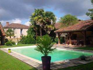 gite rural pour 10 personnes maxi - piscine, Barcelonne-du-Gers