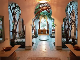 Havre de paix dans jardin luxuriant, 5 min centre, Marrakech