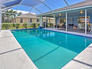 NEW! 3BR Cape Coral House w/Private Pool!