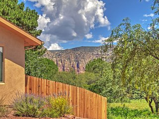Relaxing Oak Creek Oasis w/Patio & Red Rock Views!