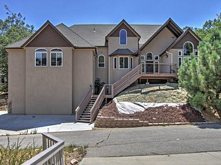 4BR + Loft Lake Arrowhead Home w/Great Views!