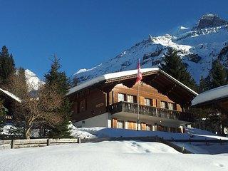 Ferienwohnung Chalet Bergblume Kandersteg