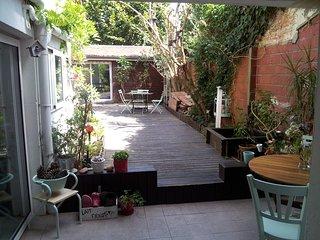 Echoppe bordelaise avec jardin Chartrons, Burdeos