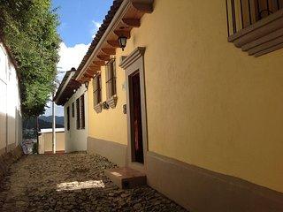 Front façade of Casa Bernal Diaz