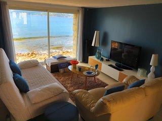 tres bel appartement 'Le Ponton' sur plage, Saint-Mandrier-sur-Mer