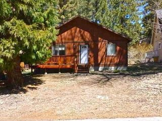 Eagle Lake Cabin- Single story, forest views, log furniture!, Green Valley Lake