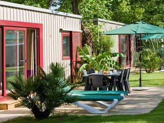Cottage 40 m2  Camping Club La Sirène 5 étoiles, Argeles-sur-Mer