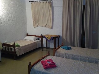 Asimina Apartments-Cosy room with 3 beds, near town, balcony, nice view No 41, Ialyssos