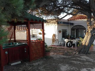 Casa de campo en primera línea de playa