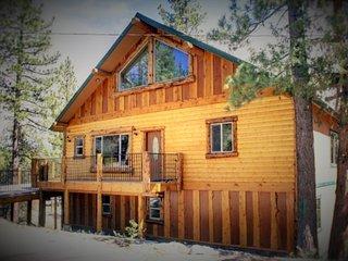 Rare Bear Luxury Cabin- Beautiful views- close to ski slopes!!