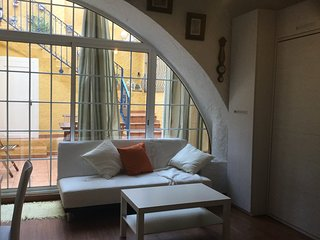 preciosa casa de pescador centro de Sitges