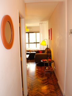 View from apartment door